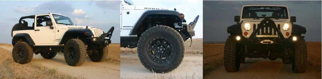 Jeep Wrangler Jk Rubicon Earthquake 37 tires