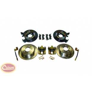 Crown Automotive crown-D35DISC-2 Kits pastillas o zapatas de freno
