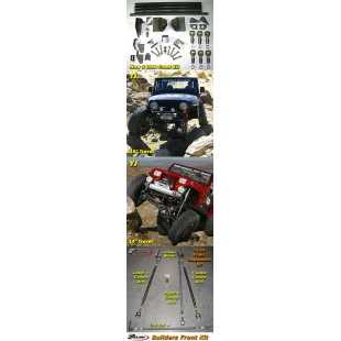 GEN RIGHT 4-LINK KIT TRASERO